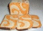 Хлеб рыжая завитушка на хмелевой закваске