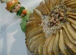 Пряный торт с грушами и кардамоном