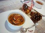 Крем-брюле из фуа-гра и инжира