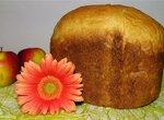 Пшеничный молочный хлеб с овсяной мукой в хлебопечке