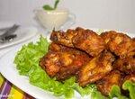 Крылышки в хрустящей панировке из духовки