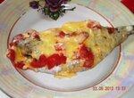 Пампанито, запеченная с помидорами и сыром в мультиварке