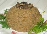 Печёночный паштет с грибами
