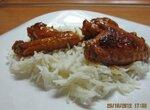 Куриные крылышки в кисло-сладком соусе по-китайски