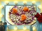 Салат с сыром, морковью, свеклой