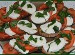 Бутерброды а-ля Капрезе