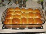 Хлеб пшеничный на яичных белках  (хлебопечка)