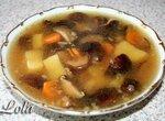 Суп из грибов шиитаки в мультиварке Panasonic