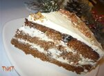 Торт Полосатый черт