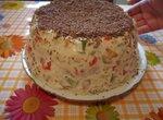 Торт-десерт Мозаика