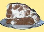 Торт Блондин в шоколаде