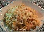 Яишенка-болтушка с креветками и сыром (Brand 37501)