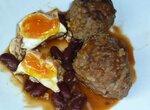 Тефтели по-родопски с яйцом в мультиварке Moulinex Minute Cook