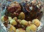 Куриные бедра с картофелем, жаренные на Рисе (Brand 37501)