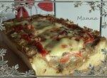 Кабачковый песочный пирог