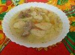 Суп с клецками в мультиварке Moulinex Minute Cook