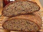 Пшеничный с льняным семенем (в духовке)