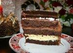 Торт шоколадный Рождественское утро