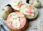 Песочное печенье на дрожжах К Новому году (украшаем с детками)