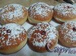 Ханукальные пончики из холодного сдобного теста