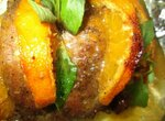 Индейка с мандаринами - необычное жаркое