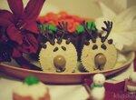 Капкейки Рождественские олени