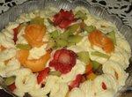 Фруктовый салат с абрикосами