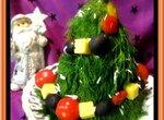 Салат Новогодняя ёлочка