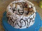 Новогодний постный торт (мультиварка  Aurora)
