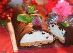 Десерт Шоколадно-творожные фантазии