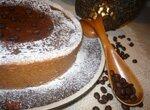 Пирог с кофейно-тыквенной начинкой