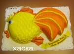 Торт Золотая рыбка Мастер-класс