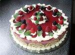 Торт Малиновая шарлотка