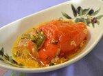 Перец сладкий фаршированный в соусе (из замороженного перца) в скороварке Oursson