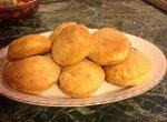 Традиционное американское печенье к завтраку (Biscuits) несладкое