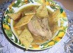 Суп из куропатки с укропными гренками (скороварка Polaris 0205 AD)