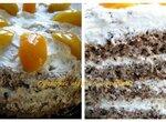 Ореховый торт в скороварке Brand 6050