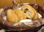 Пирожки постные из цельнозерновой муки в хлебопечке