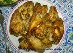 Куриные крылья в медово-горчичном маринаде