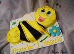 Торт Пчела Майя 2Д (мастер-класс)