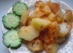 Картофель с тмином в мультиварке Panasonic