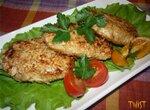 Котлеты куриные с чечевицей и сыром Фета