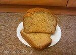 Panasonic 2501. Пшенично-ржаной хлеб с семенами льна