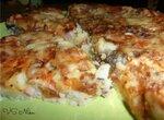 Картофельная запеканка Ленивая пицца ( аэрогриль Brand 35128)