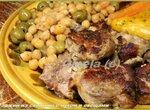 Таджин из свинины с нутом и овощами