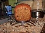 Пшенично-ржаной хлеб с черносливом и семечками тыквы для Panasonic (SD-2502)