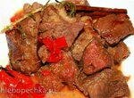 Свинина с инжиром, корицей и розмарином