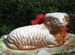 Пасхальный барашек в керамической форме