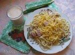 Спагетти карбонара в мультиварке Redmond RMC-M70