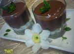 Шоколадный десерт с базиликом и кайенским перцем